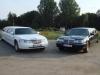 limuzina alb negru